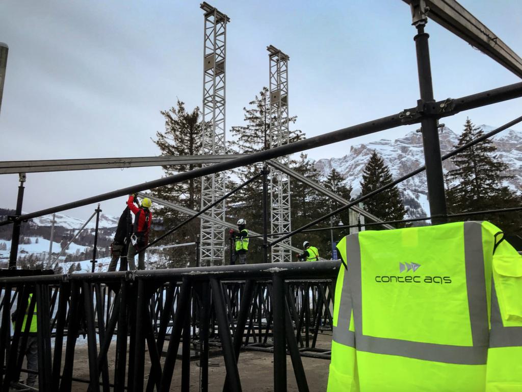 sicurezza degli eventi Cortina 2021 Gruppo Contec